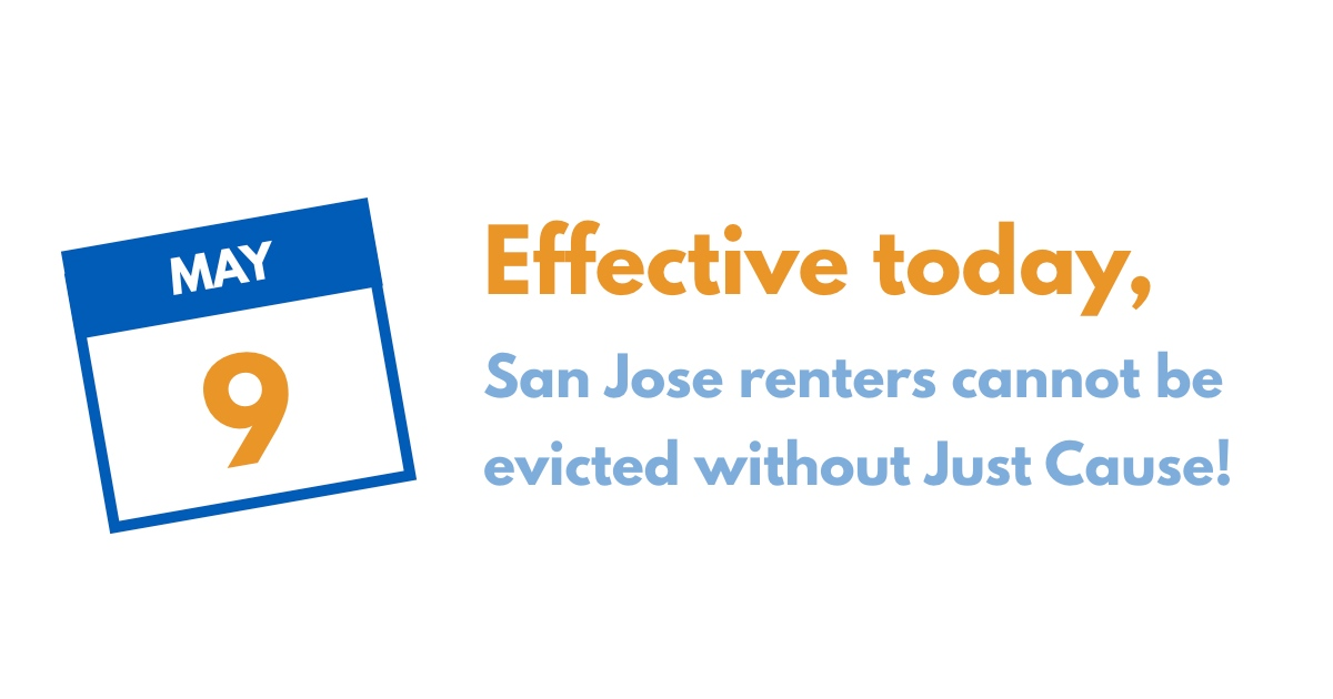 450,000 renters are now protected from unjust eviction