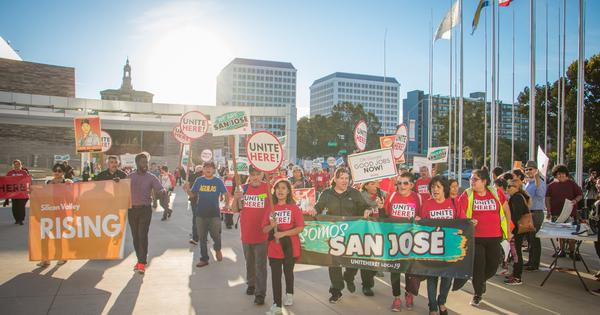 San Jose takes to the streets
